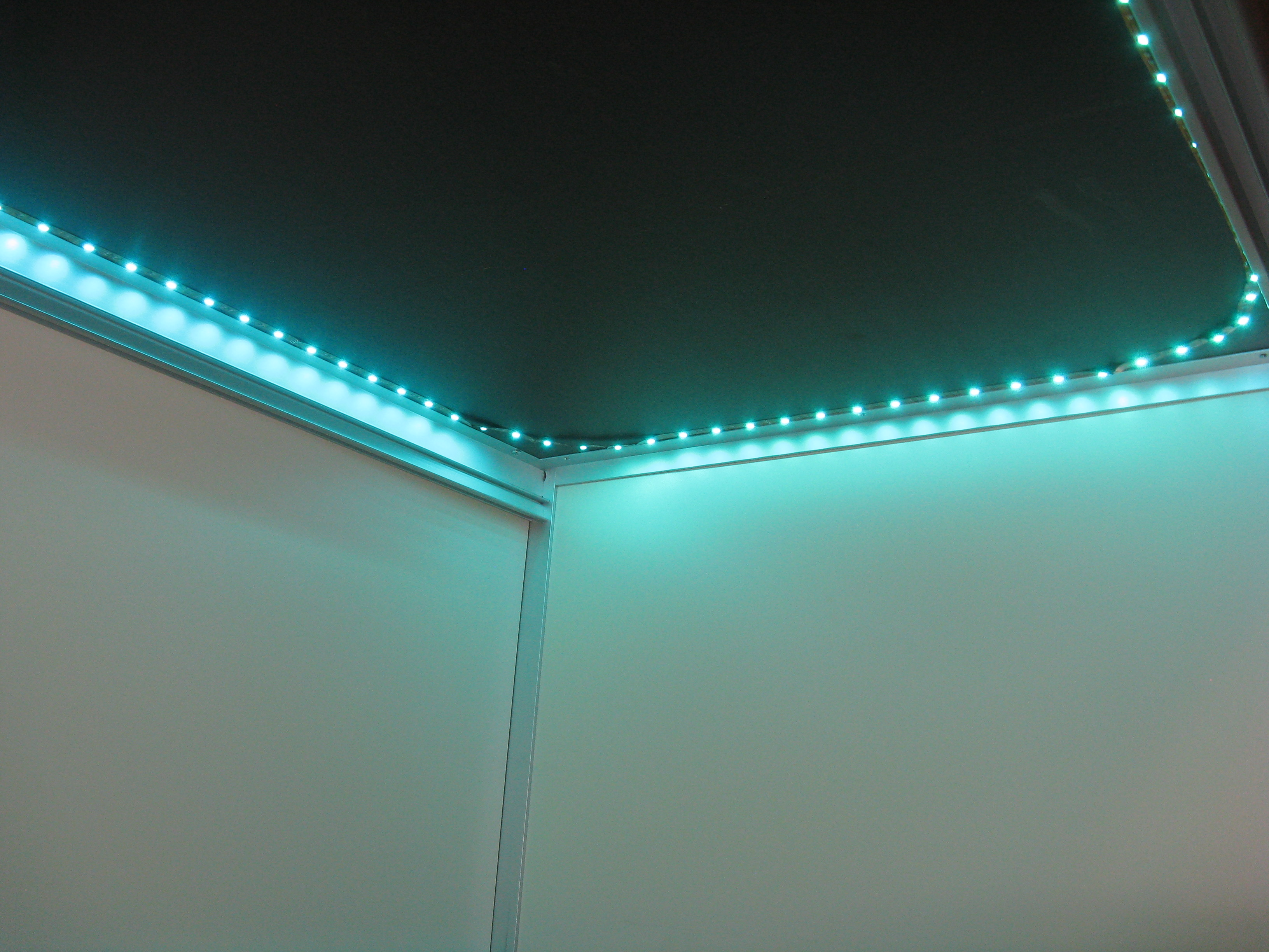 under desk led lighting. View Topic Mini Review Ledwholesalers Rgb Color. SaveEnlarge · Dream Color Led Light Strip Under Desk Lighting