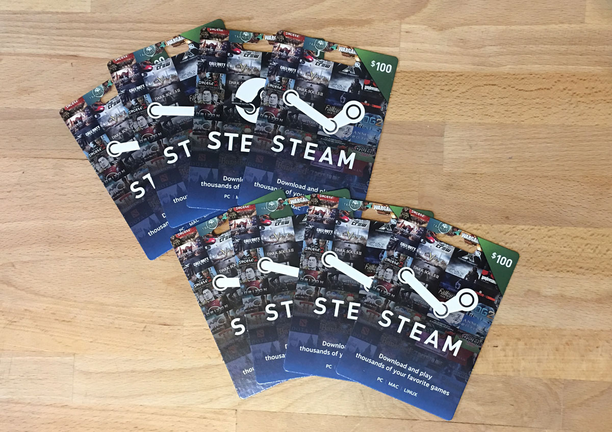 View topic - 2016 Steam Gift Cards | WSGF