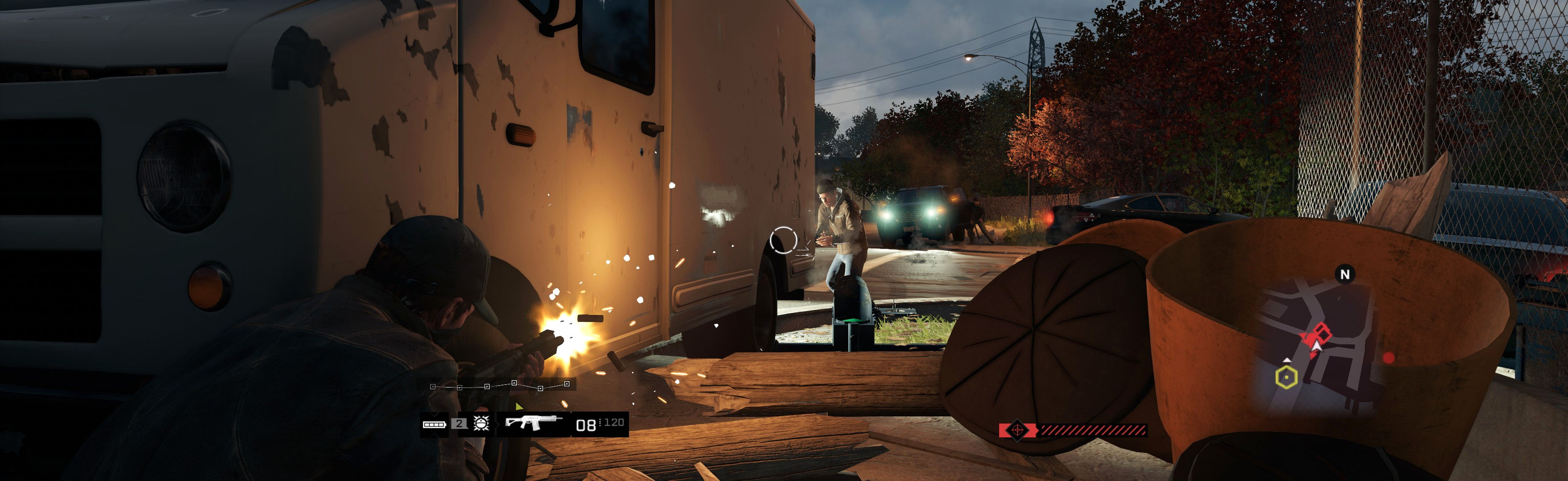 Widescreen Letterbox Watch Dogs