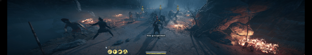 Intro battle 6040x1080