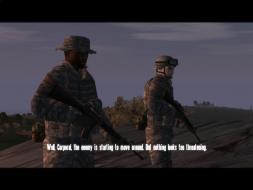 """Ambush"" mission with GRAA mod on 4:3"