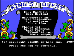 Kings Quest I: Quest for the Crown