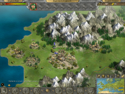 1024x768 World View showing Highlands