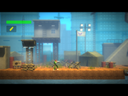 4:3 gameplay (platforming level)