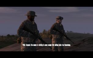 """Ambush"" mission with GRAA mod on 16:10"