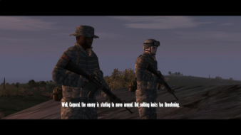 """Ambush"" mission with GRAA mod on 16:9"
