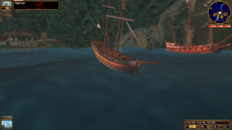 gameplay (sailing mode)