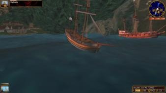 gameplay (sailing mode)