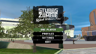 "Stubbs the Zombie in ""Rebel Without a Pulse"""