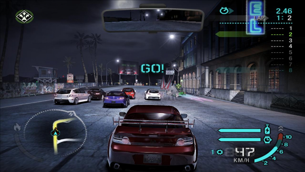 Need for speed carbon cheats code