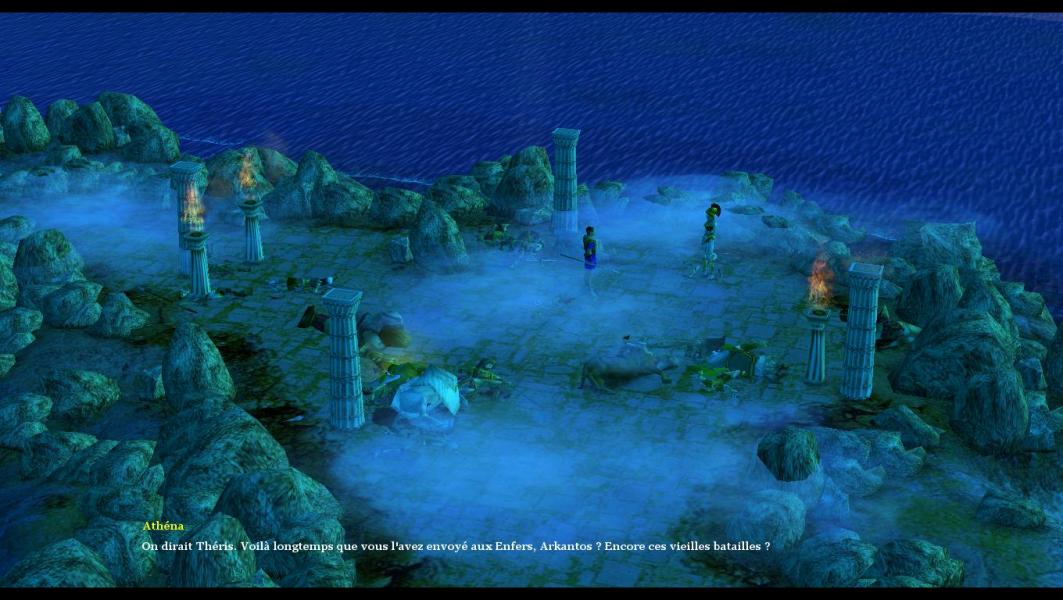 age of mythology titans black screen windows 10