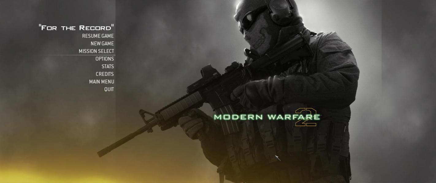 Call of duty modern warfare 2 gun - Call Of Duty Modern Warfare 2
