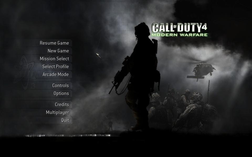 Call Of Duty 4 Modern Warfare Wsgf