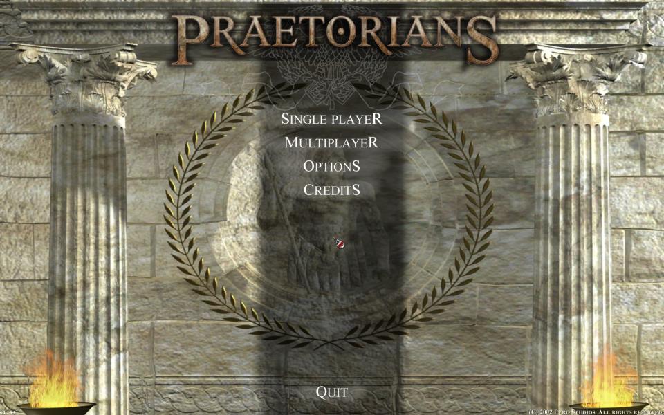 praetorians gameplay español
