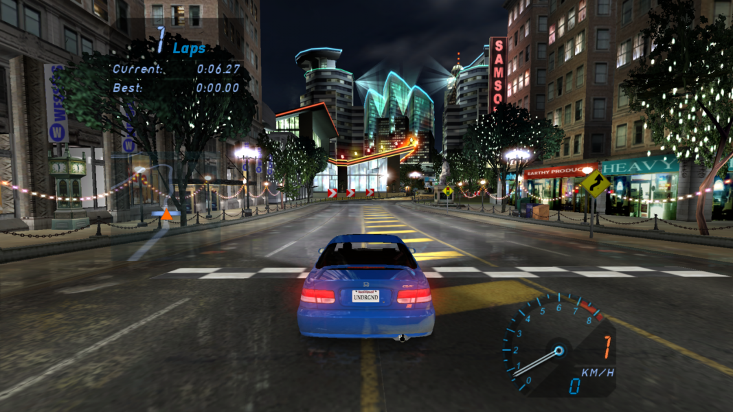 need for speed underground 2 full screen 1366x768