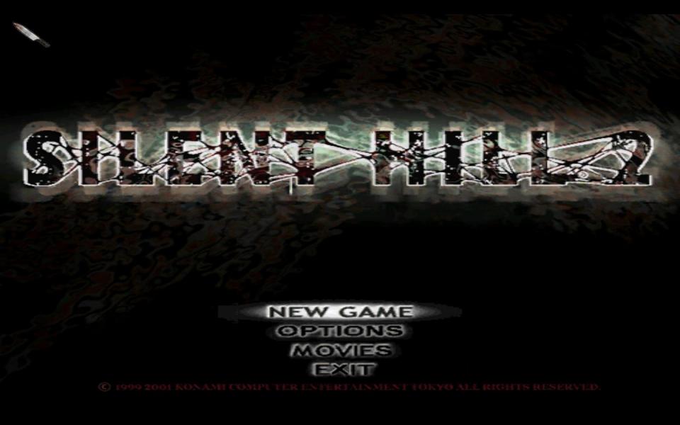 silent hill 2 enhanced edition black screen