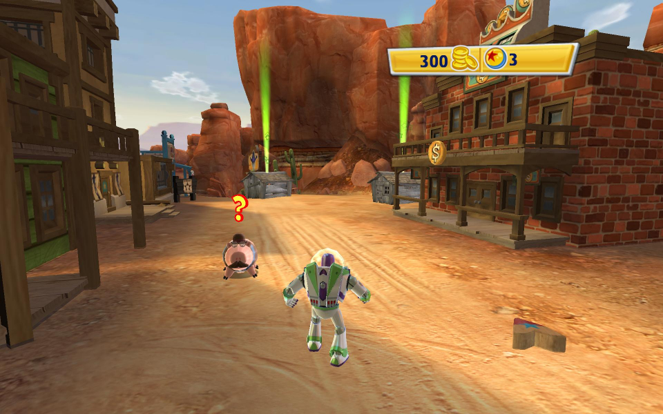 Scarecrow Toy Story 3 Game : Toy story the video game wsgf