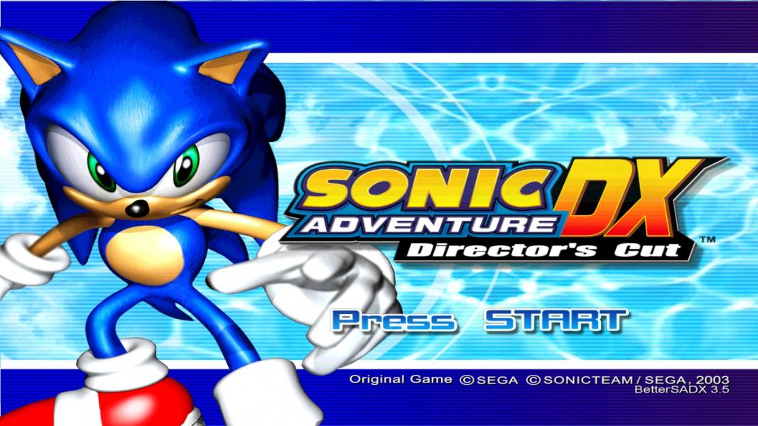 Sonic adventure dx russian setup 1.08