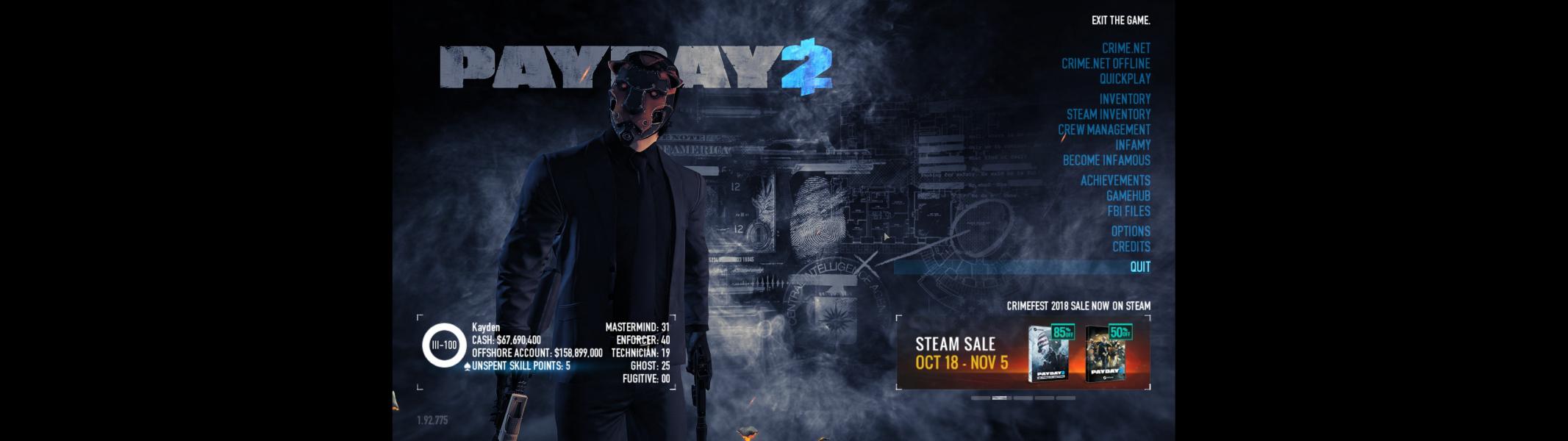 payday 2 hud mod 2018