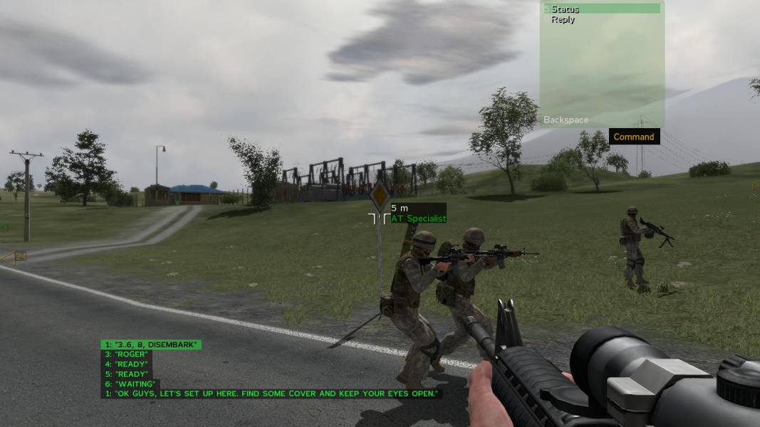 how to talk ingame in arma 3