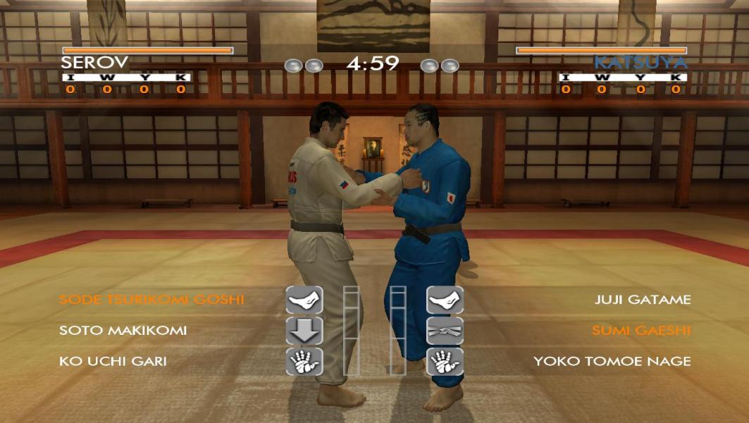 david douillet judo game free