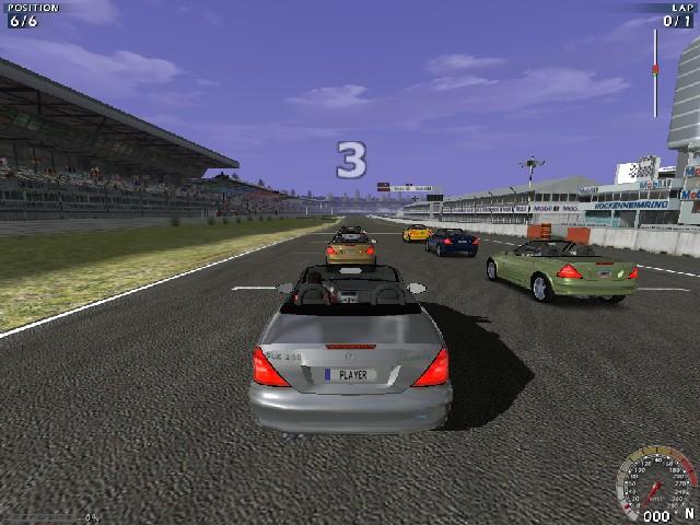 Mercedes benz world racing wsgf for Mercedes benz games