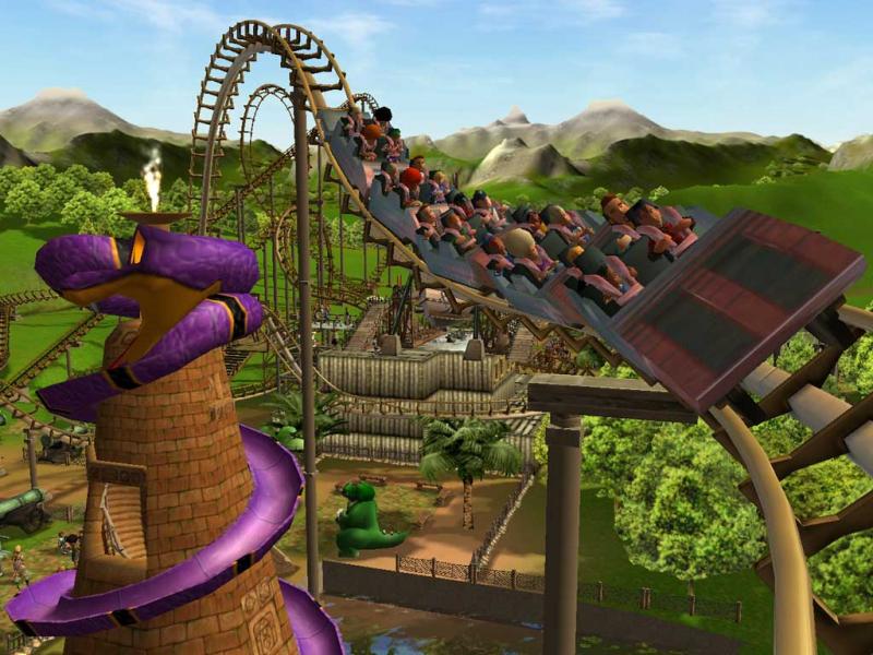 Rollercoaster Tycoon 3 | WSGF