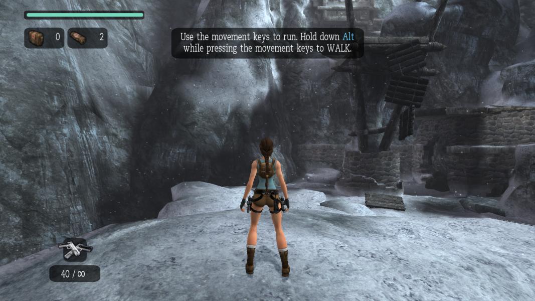 Tomb Raider Anniversary Wsgf