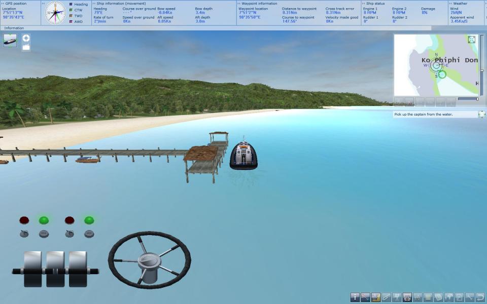 Motorboot Simulator