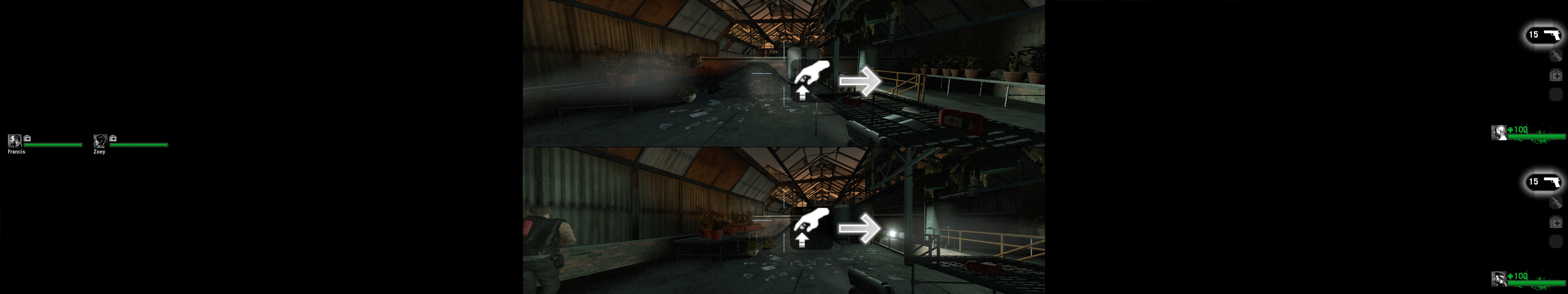 Howto: Left 4 Dead Split Screen with Eyefinity | WSGF